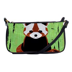 Red Panda Bamboo Firefox Animal Shoulder Clutch Bags
