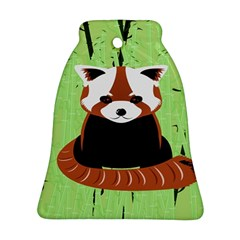 Red Panda Bamboo Firefox Animal Ornament (bell)
