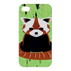 Red Panda Bamboo Firefox Animal Apple Iphone 4/4s Hardshell Case