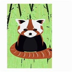 Red Panda Bamboo Firefox Animal Small Garden Flag (two Sides)