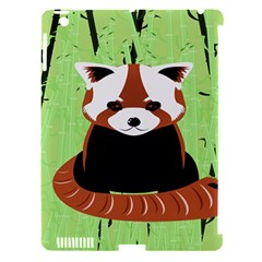 Red Panda Bamboo Firefox Animal Apple Ipad 3/4 Hardshell Case (compatible With Smart Cover)