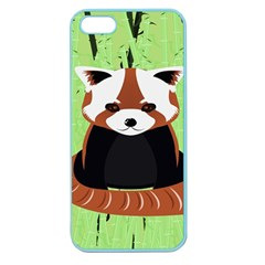 Red Panda Bamboo Firefox Animal Apple Seamless Iphone 5 Case (color)