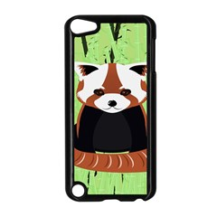 Red Panda Bamboo Firefox Animal Apple Ipod Touch 5 Case (black)