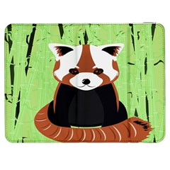 Red Panda Bamboo Firefox Animal Samsung Galaxy Tab 7  P1000 Flip Case