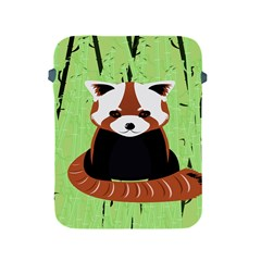 Red Panda Bamboo Firefox Animal Apple Ipad 2/3/4 Protective Soft Cases