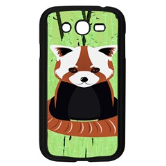 Red Panda Bamboo Firefox Animal Samsung Galaxy Grand Duos I9082 Case (black)