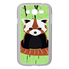 Red Panda Bamboo Firefox Animal Samsung Galaxy Grand Duos I9082 Case (white)