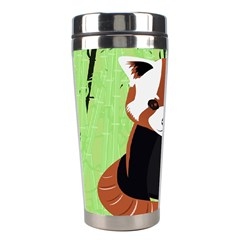 Red Panda Bamboo Firefox Animal Stainless Steel Travel Tumblers