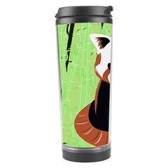 Red Panda Bamboo Firefox Animal Travel Tumbler