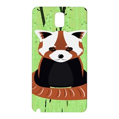Red Panda Bamboo Firefox Animal Samsung Galaxy Note 3 N9005 Hardshell Back Case