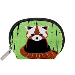 Red Panda Bamboo Firefox Animal Accessory Pouches (small)