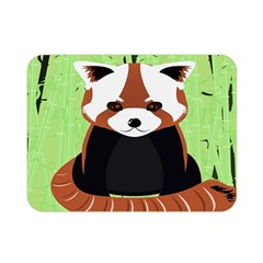 Red Panda Bamboo Firefox Animal Double Sided Flano Blanket (mini)