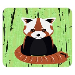 Red Panda Bamboo Firefox Animal Double Sided Flano Blanket (small)