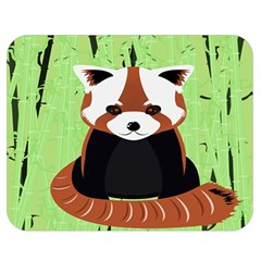 Red Panda Bamboo Firefox Animal Double Sided Flano Blanket (medium)