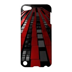 Red Building City Apple Ipod Touch 5 Hardshell Case