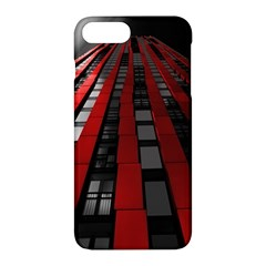 Red Building City Apple Iphone 7 Plus Hardshell Case