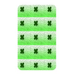 Shamrock Pattern Background Memory Card Reader