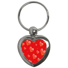 Red Hearts Key Chains (heart)