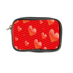 Red Hearts Coin Purse