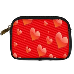Red Hearts Digital Camera Cases