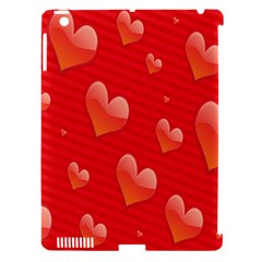 Red Hearts Apple Ipad 3/4 Hardshell Case (compatible With Smart Cover)