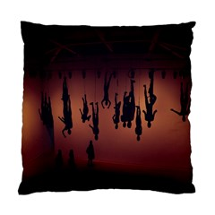 Silhouette Of Circus People Standard Cushion Case (one Side)