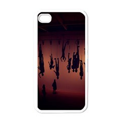 Silhouette Of Circus People Apple Iphone 4 Case (white)