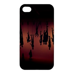 Silhouette Of Circus People Apple Iphone 4/4s Premium Hardshell Case