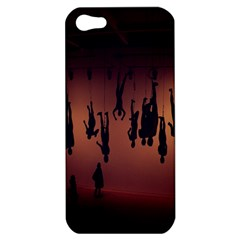 Silhouette Of Circus People Apple Iphone 5 Hardshell Case