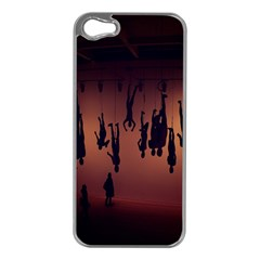 Silhouette Of Circus People Apple Iphone 5 Case (silver)