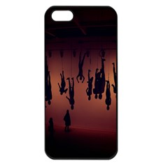 Silhouette Of Circus People Apple Iphone 5 Seamless Case (black)