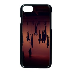 Silhouette Of Circus People Apple Iphone 7 Seamless Case (black)