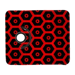 Red Bee Hive Texture Galaxy S3 (flip/folio) by Nexatart