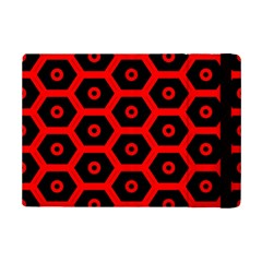 Red Bee Hive Texture Ipad Mini 2 Flip Cases