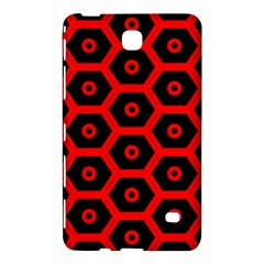 Red Bee Hive Texture Samsung Galaxy Tab 4 (8 ) Hardshell Case  by Nexatart