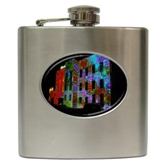Science Center Hip Flask (6 Oz) by Nexatart