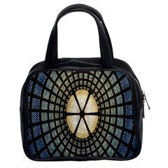 Stained Glass Colorful Glass Classic Handbags (2 Sides) by Nexatart