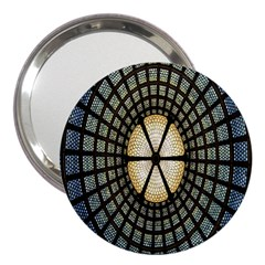 Stained Glass Colorful Glass 3  Handbag Mirrors