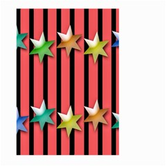 Star Christmas Greeting Large Garden Flag (two Sides) by Nexatart