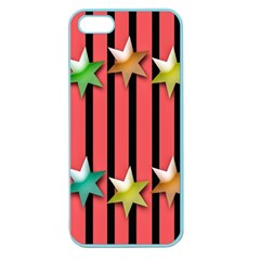 Star Christmas Greeting Apple Seamless Iphone 5 Case (color)