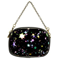 Star Ball About Pile Christmas Chain Purses (one Side)