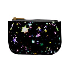 Star Ball About Pile Christmas Mini Coin Purses by Nexatart