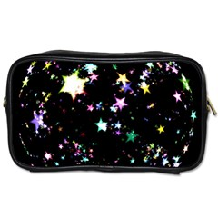 Star Ball About Pile Christmas Toiletries Bags 2 Side by Nexatart
