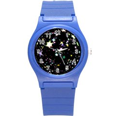 Star Ball About Pile Christmas Round Plastic Sport Watch (s) by Nexatart