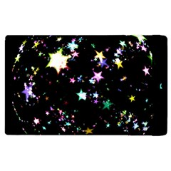 Star Ball About Pile Christmas Apple Ipad 2 Flip Case by Nexatart