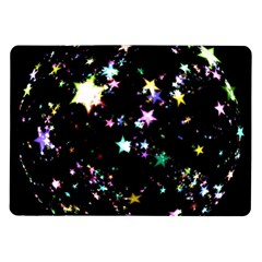 Star Ball About Pile Christmas Samsung Galaxy Tab 10 1  P7500 Flip Case by Nexatart