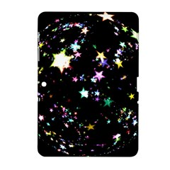 Star Ball About Pile Christmas Samsung Galaxy Tab 2 (10 1 ) P5100 Hardshell Case  by Nexatart