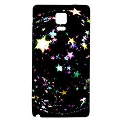 Star Ball About Pile Christmas Galaxy Note 4 Back Case by Nexatart