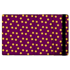 Star Christmas Red Yellow Apple Ipad 3/4 Flip Case by Nexatart
