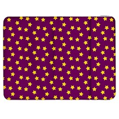 Star Christmas Red Yellow Samsung Galaxy Tab 7  P1000 Flip Case by Nexatart